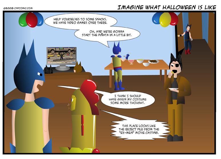 Imagine What Halloween Is Like