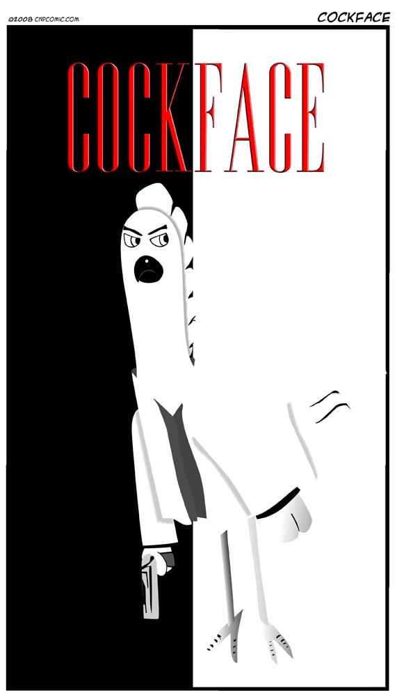 Cockface